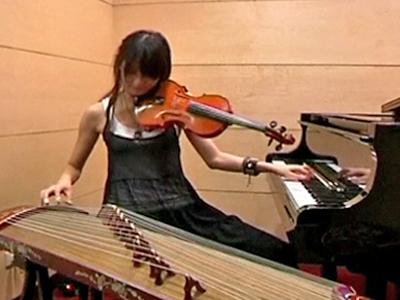 Taiwan: One-Girl Band a YouTube Sensation