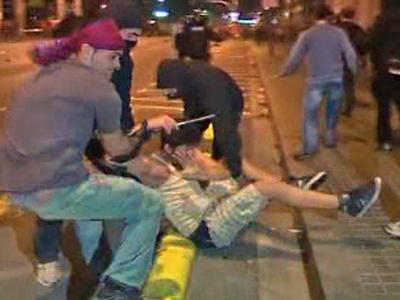 Riot Erupts in Barcelona Amid Soccer Celebration