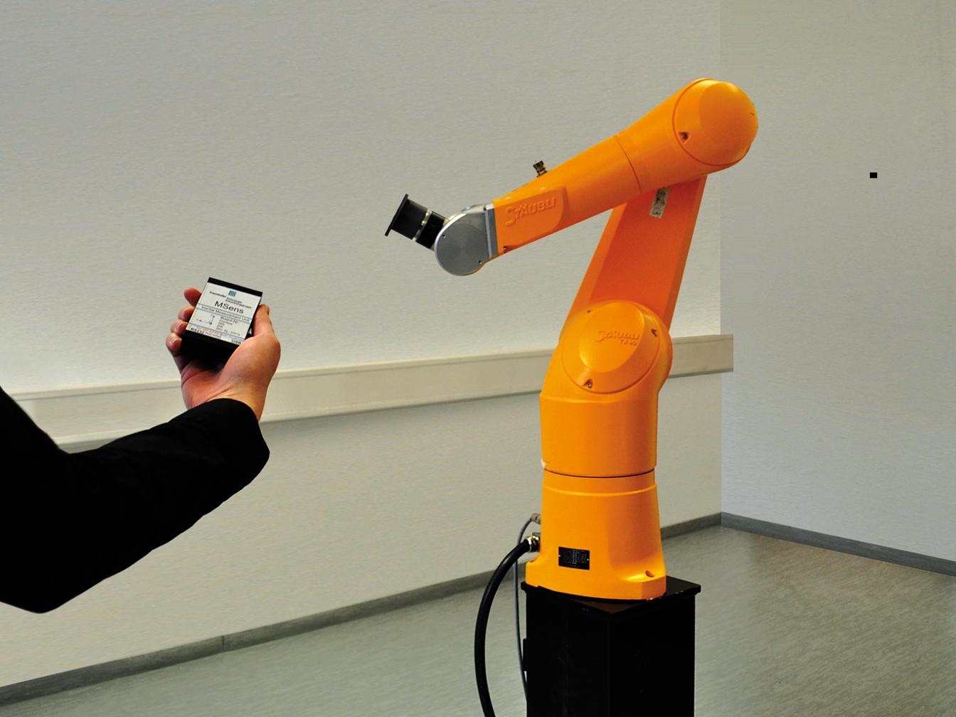 Roboterarme kinderleicht steuern