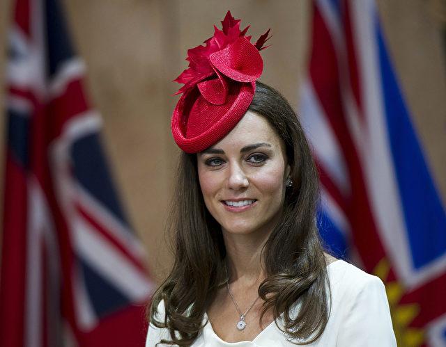 Kate, Herzogin von Cambridge, beim Museum of Civilization in Gatineau, Kanada, am kanadischen Nationalfeiertag. Foto: AP Photo/The Canadian Press, Nathan Denette