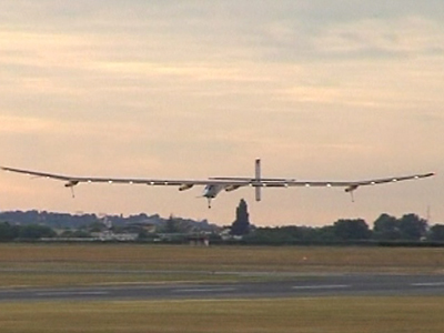 Video: Solar Powered Aircraft Flies From Brussels To Paris