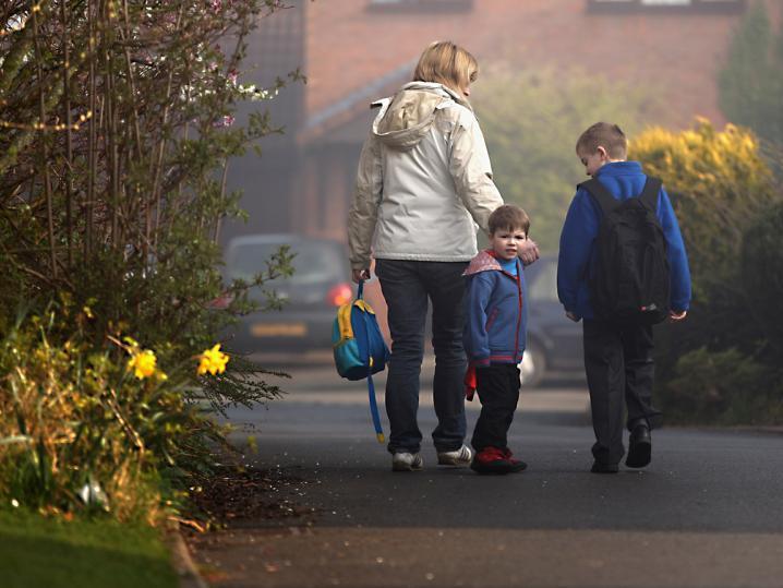 Wie steht es um die selbstständige Mobilität von Kindern?