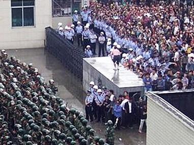 Tausende protestieren in Chinas Provinz Hubei nach Tod in Haft