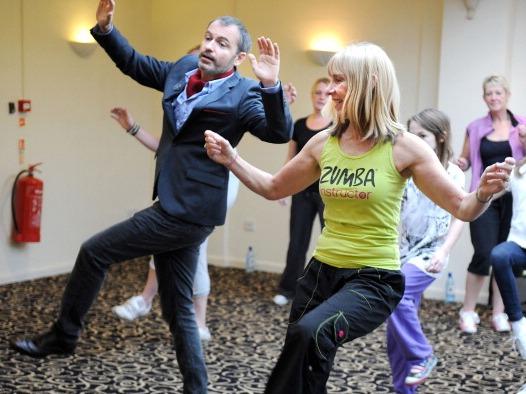 Tanz-Fitnessmarathon für den guten Zweck