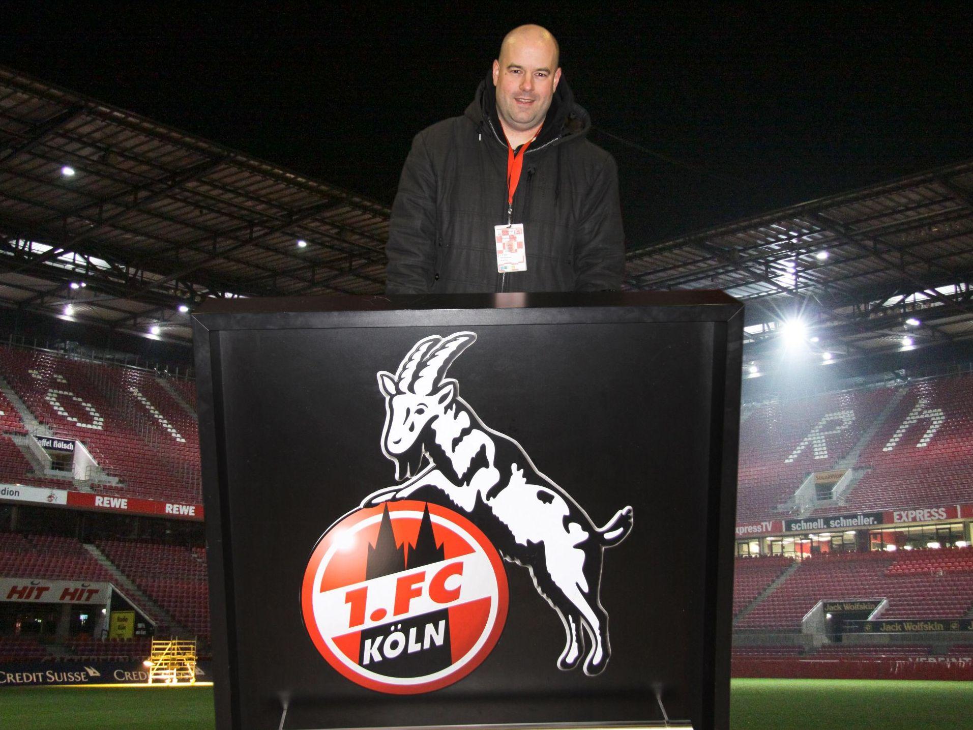 """Dirk Unschuld und """"sein"""" 1. FC Köln"""
