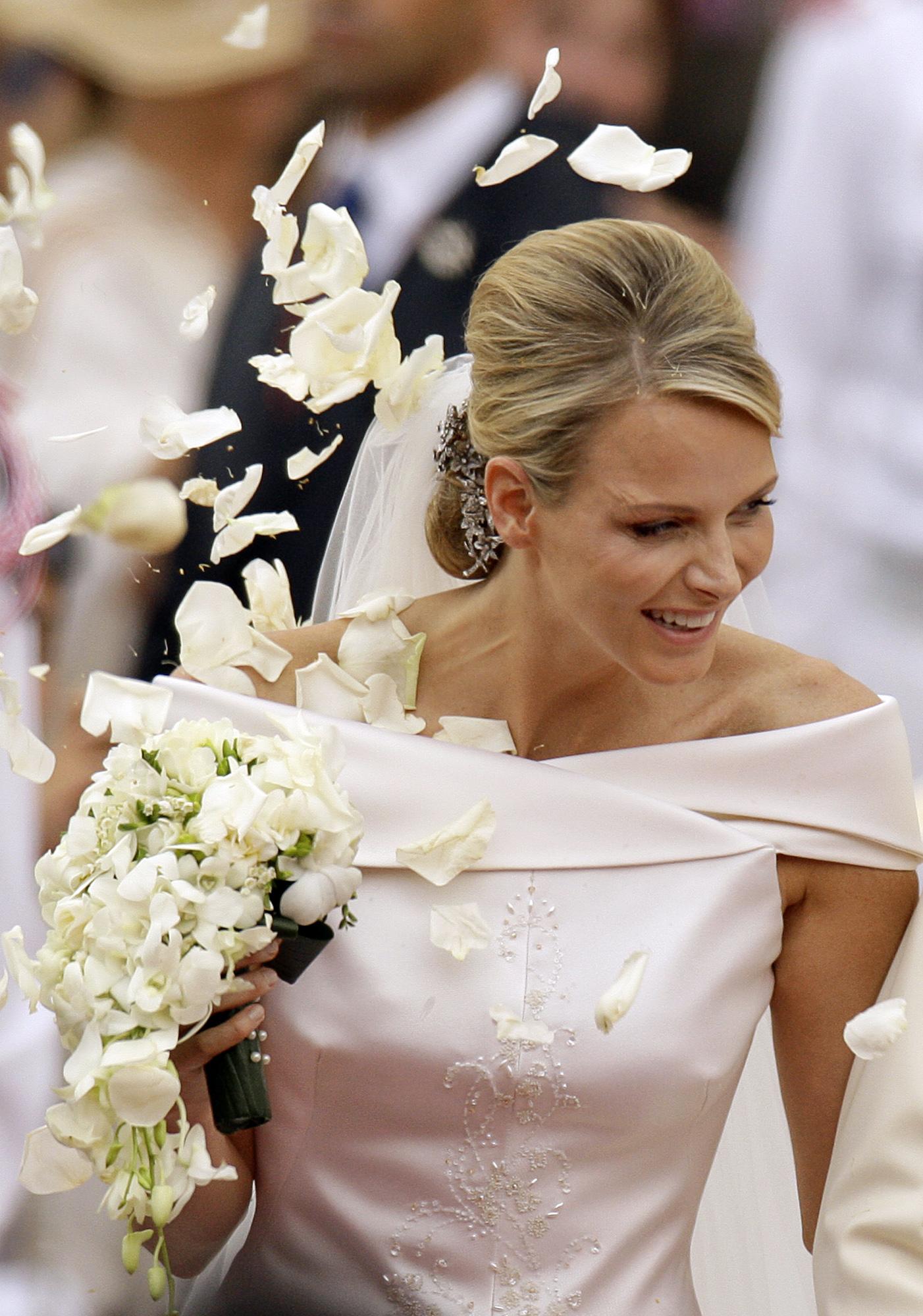 Charlenes Brautstrauss Ist Aus Ihren Lieblingsblumen Gestaltet
