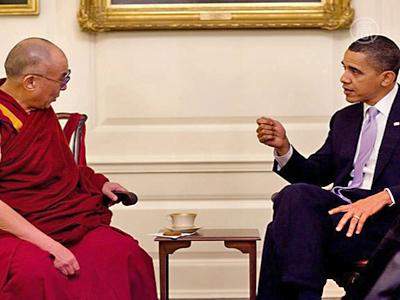 Chinesisches Regime verurteilt Treffen von Obama und dem Dalai Lama