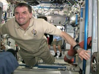 Atlantis Docks at Space Station on Last Mission
