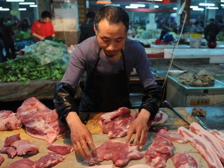Inflation und Lebensmittelpreise in China auf Höchststand