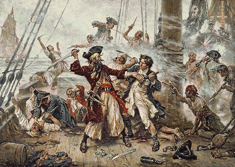 Präventivmaßnahmen zur Lösung der globalen Piraterie
