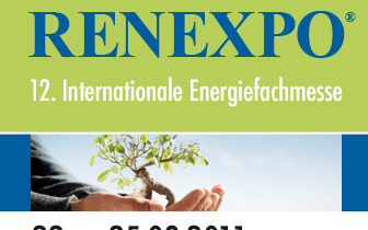 Regenerative Energien in Europa – die RENEXPO 2011