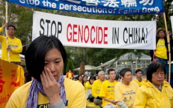 Falun Gong veranstaltet Pressekonferenz vor UN