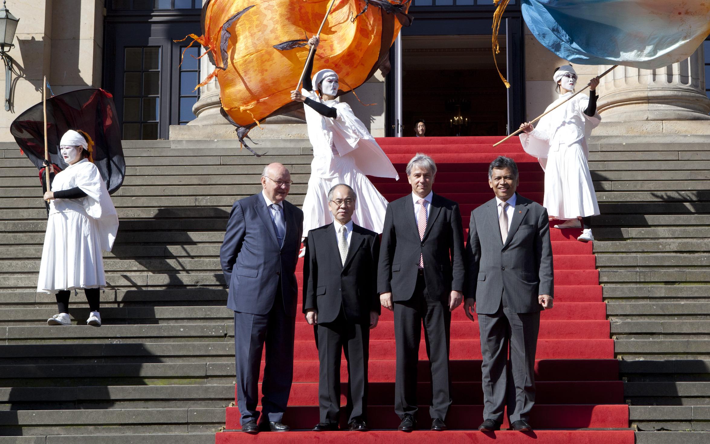 Asien-Pazifik zu Besuch in Berlin