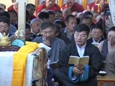 Protest: Zwei tibetische Mönche verbrennen sich selbst