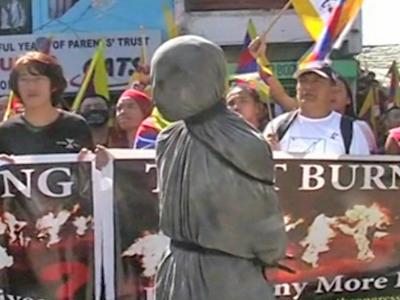 Junge Tibeterin gestorben