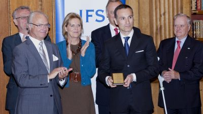 Schwedischer Preisträger kämpft für Menschenrechte in China