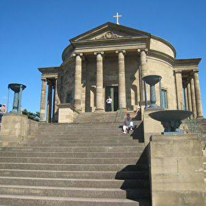 In der Grabkapelle auf dem Rotenberg wurde am 5. Juni 1824 Katharina, Königin von Württemberg, gebürtige Großfürstin von Russland und Tochter des Zaren Paul, beigesetzt.
