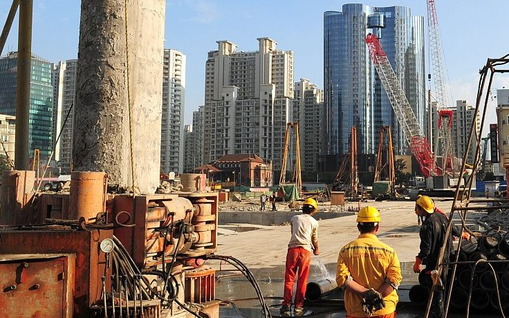 Chinas Immobilien-Markt in schwerer Krise