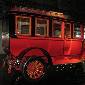 Eine Reiselimousine von 1904. Foto: Elke Backert