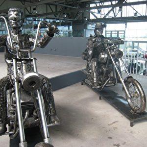 Easy Rider im Meilenwerk Stuttgart. Foto: Elke Backert