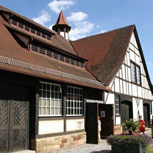 Das Weinbaumuseum in Stuttgart-Uhlbach beherbergt ungewöhnliche und schöne Exponate zur Geschichte des Weinbaus. Foto: Elke Backert