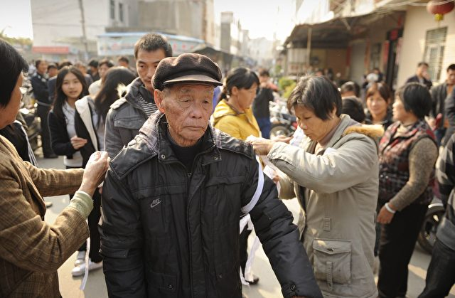 china heftige bauernproteste und trauer in wukan. Black Bedroom Furniture Sets. Home Design Ideas