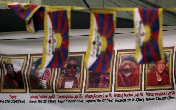 Polizei schießt auf tibetische Demonstranten in China