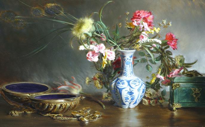 Malerei wie im Barock bei den Alten Meistern