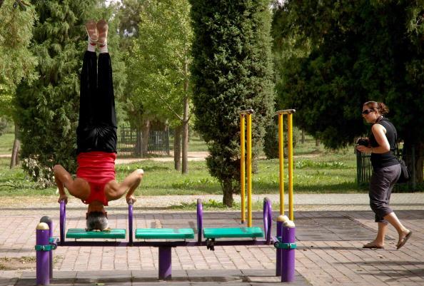 Stresspegel abbauen – sportliche Chefs sind netter