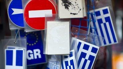 Schuldenkrise Griechenland: Hilfszahlungen sollen vorerst auf ein Sperrkonto gehen