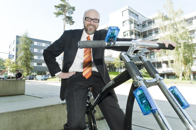 Die drahtlose Bremse für das Fahrrad