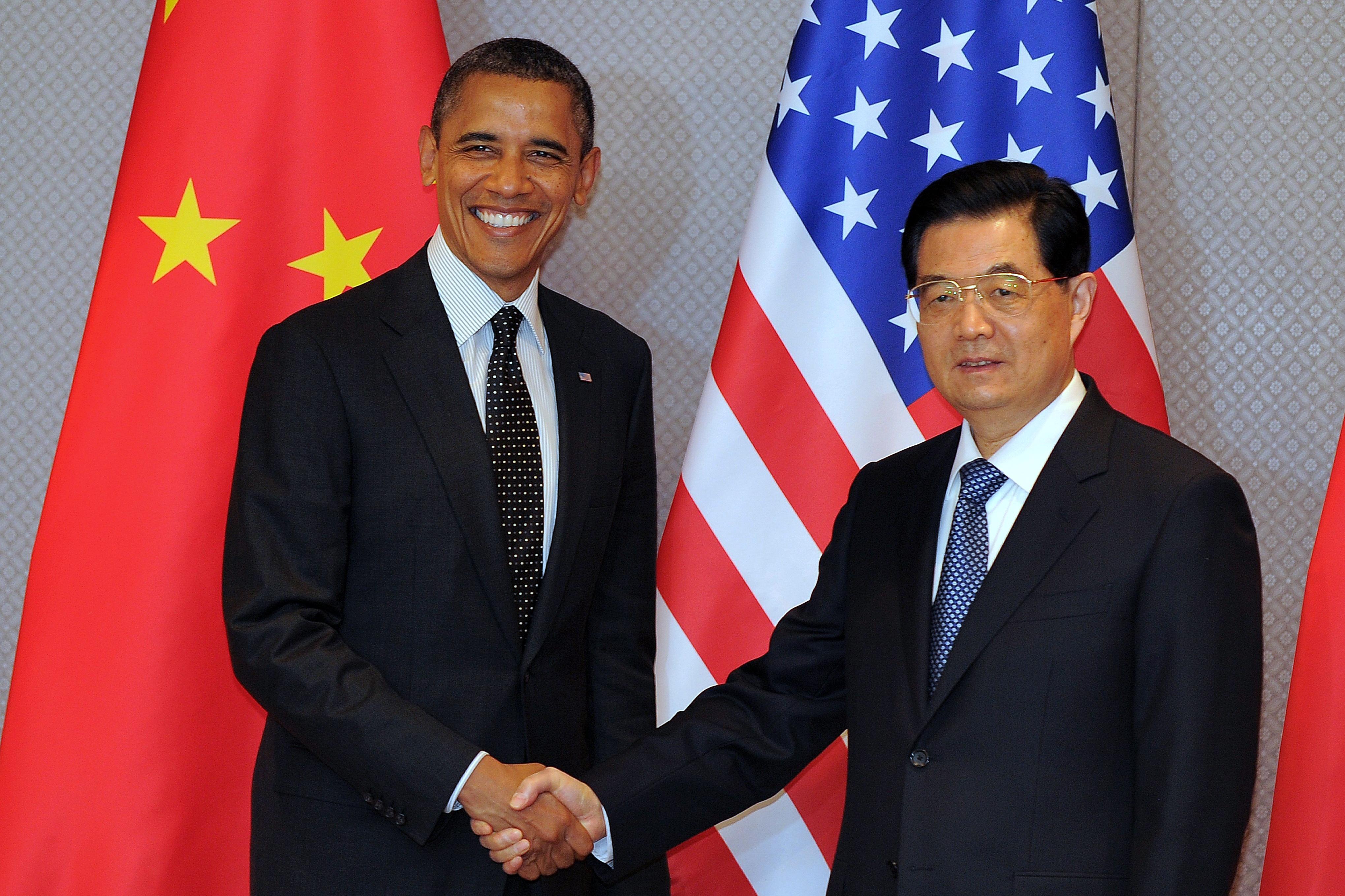 Ironie in Begrüßung von Barack Obama erregt China