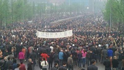 China: Unruhen in Chongqing