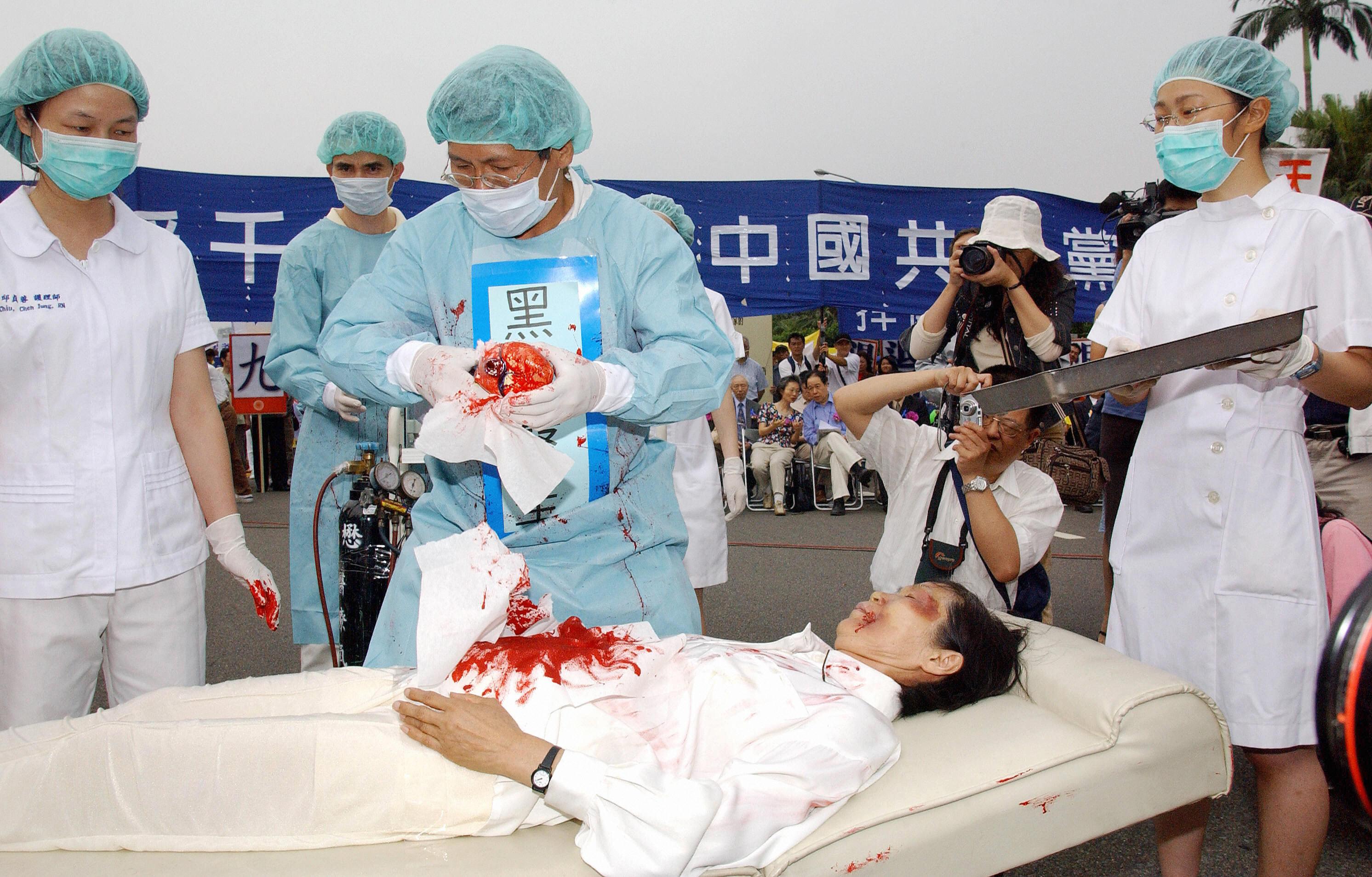 """""""Barbarischer Akt"""": US-Abgeordnete bringen Gesetzentwurf zur Bekämpfung von Chinas Organraub ein"""