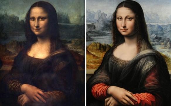 Mona Lisa: Zwei Bilder – zwei Geschichten