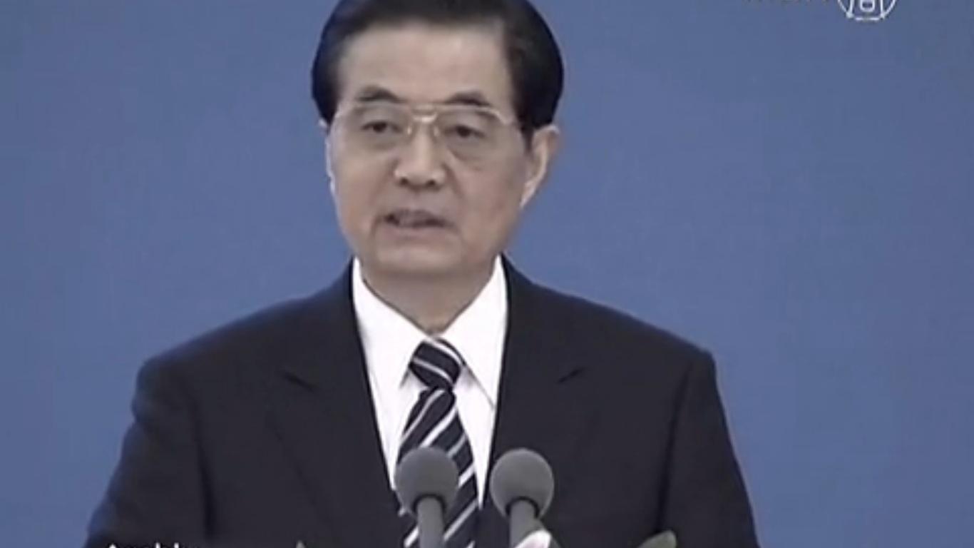 """Hu Jintao: Kommunistische Partei steht vor """"beispiellosen Herausforderungen"""""""