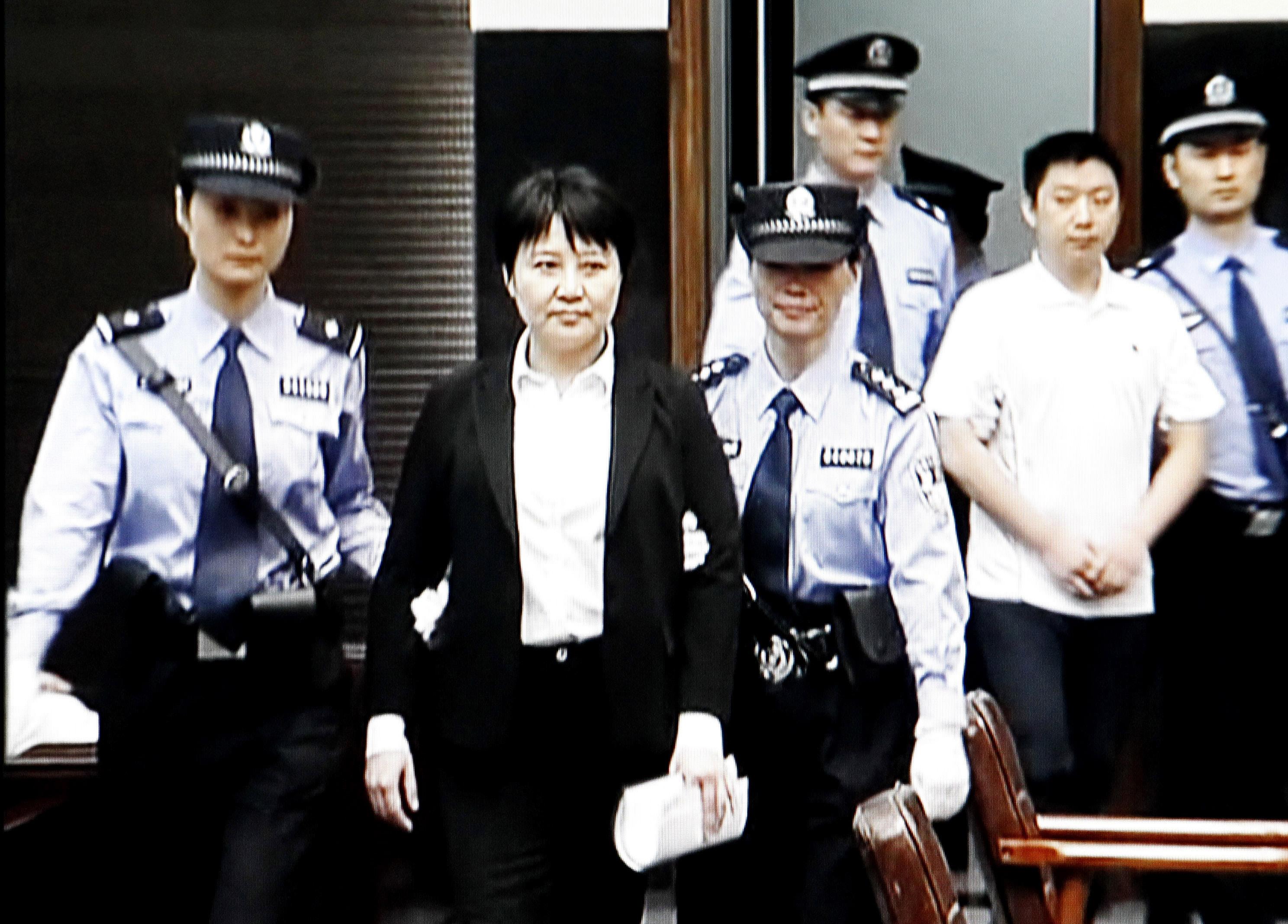 Giftmordprozess in China: Bedingte Todesstrafe für Gu Kailai