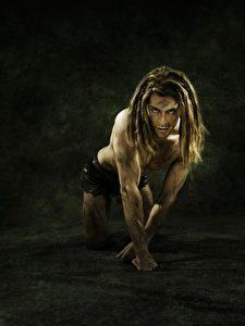 Alex Klaws als Tarzan im Musical Tarzan.