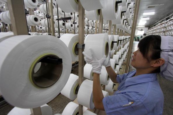 Wird eine Pleitewelle die chinesische Industrie erfassen?  Foto: AFP/Getty Images