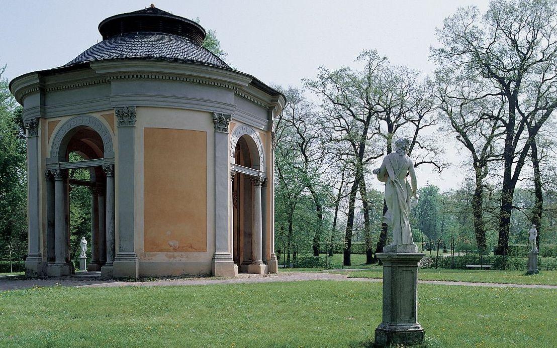 Salon Im Orangerierondel Foto Gerhard Murza Copyright Stiftung