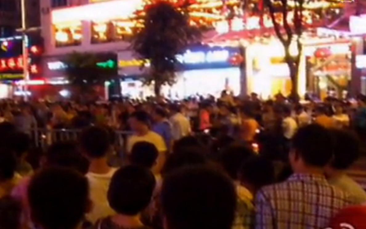 China: Protest gegen Kohlekraftwerk und Umwelt-Verschmutzung