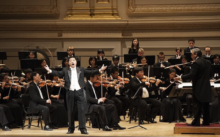Shen Yun Symphony Orchestra gab Debut in der Carnegie Hall