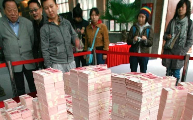 Die Geldmenge in China nimmt dramatisch zu