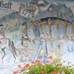 Schwarzwald-Überquerung von Marie-Antoinette 1770.  Foto: Bernd Kregel