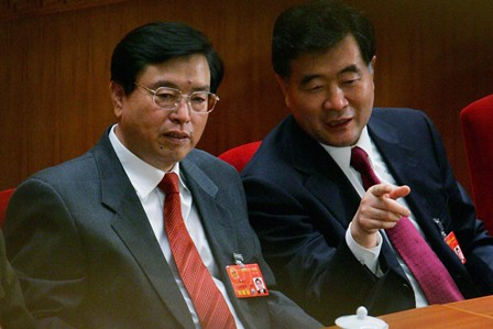 Zhang Dejiang, Ständiges Mitglied des Politbüros der KPCh, wurde als Vertreter von Kim Jong-il in China bezeichnet. Foto: Getty Images