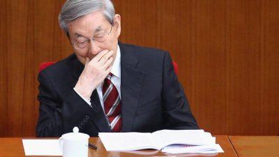 China: Parteiälteste klären öffentlich Zugehörigkeiten
