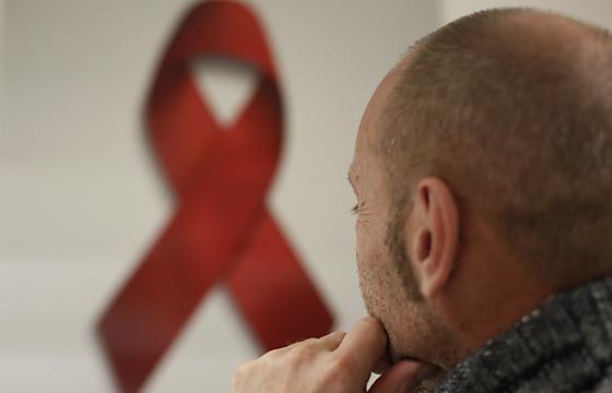 """""""Wie sagst du, dass du HIV hast?"""" Foto: dapd/Alex Domanski"""