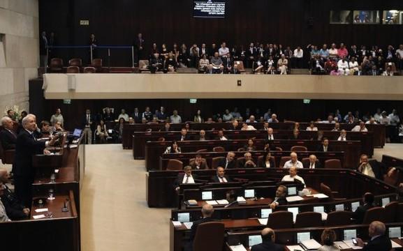 Die Knesset bei einer Sitzung in Jerusalem am 15. Oktober 2012. Drei von neun Abgeordneten zogen ihre Unterschrift unter eine Petition für ein Ende der widerrechtlichen Organentnahme in China zurück. Foto: Gali Tibbon/AFP/AFP/Getty Images