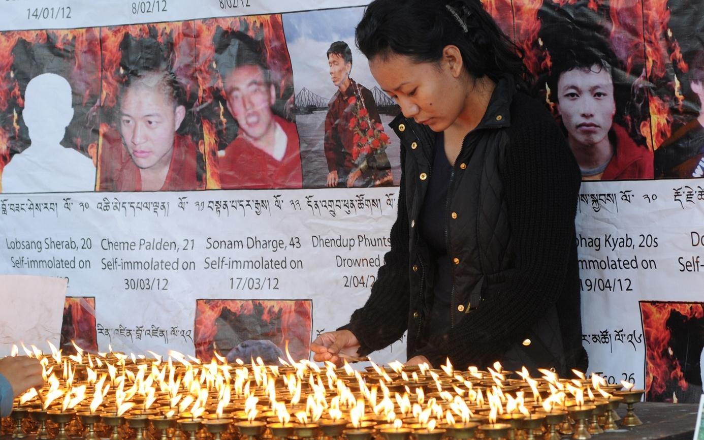 Hilferufe aus Tibet: Junger Tibeter stirbt nach Selbstverbrennung