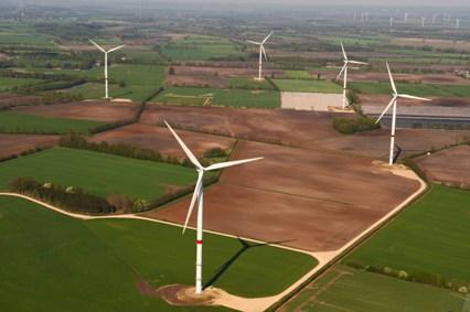 Windkraft-Turbine   Foto: Nordex SE